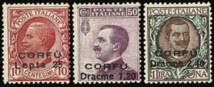 korfu-italia-postimerkki
